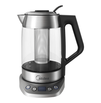 MIDEA Variable Temperature Digital Glass Kettle with Tea Infuser 1.7L MEK17GT-E8