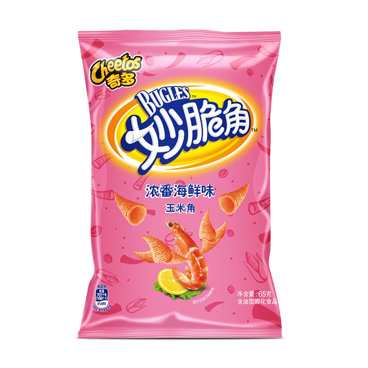 Yamibuy.com:Customer reviews:Cheetos Bugles Seafood Flavor 65g