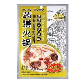 重庆老孔 川菜调味料 清汤药膳火锅 200g