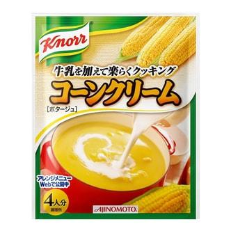 日本KNORR康宝  金黄奶油玉米浓汤 四人份 65.2g
