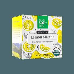 【新品首发】日本SUGIMOTO有机柠檬抹茶冲饮 42g