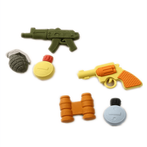 Product Detail - YIZHENG Cute Creative Cartoon Weapon Modeling Erasers Special For Children & Primary School Students  YZ1251   1PC - image 0