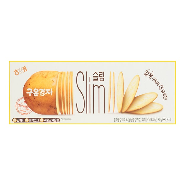 Product Detail - HAITAI Baked Potato Slim 80g - image 0