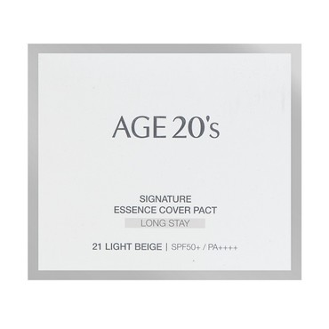AGE20's Signature Essence Cover Pact Long Stay #13 Ivory SPF50+ PA+++ 14g