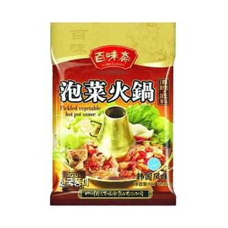 百味斋 泡菜火锅底料 韩国风味 200g