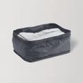 网易严选梭织布可折叠旅行收纳包黑色 大款 单层
