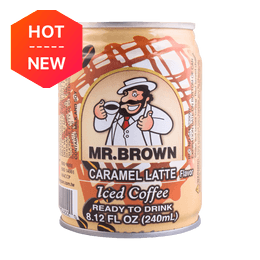 MR BROWN Coffee Blue Caramel Latte 240ml