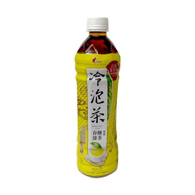 商品详情 - 光泉 冷泡茶 春釀绿茶 585 毫升 - image  0
