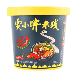JIAXIAOPANG Instant Rice Noodle (Spicy Flavor) 143g