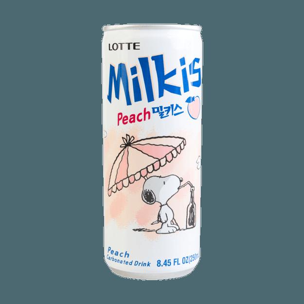 Product Detail - LOTTE Milkis Peach Flavor 250ml - image 0