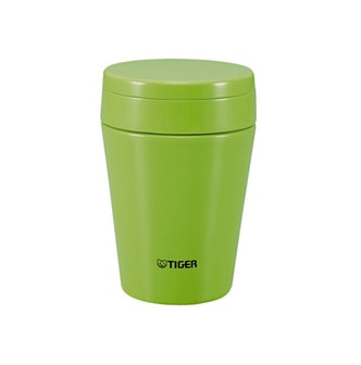 TIGER Thermal Soup Cup 380ml Olive MCC-C038CK