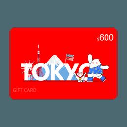 【限定礼卡】亚米礼卡$600 立省$36
