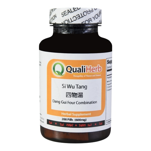 Quali Herb Dang Gui Four Combination Supplement 200 pills 600mg