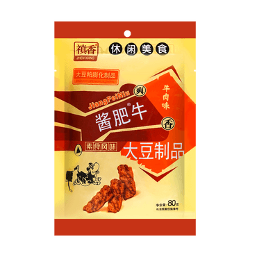 Dried Bean Curd Snack Sauced Flavor 80g