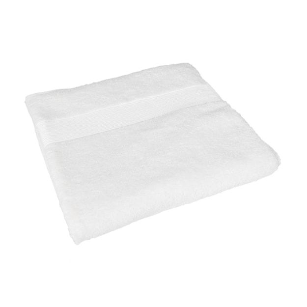 商品详情 - 苏宁极物 埃及进口长绒棉浴巾 白色 - image  0