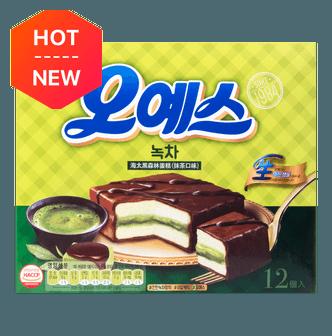 韩国HAITAI海太 黑森林蛋糕 抹茶味 336g