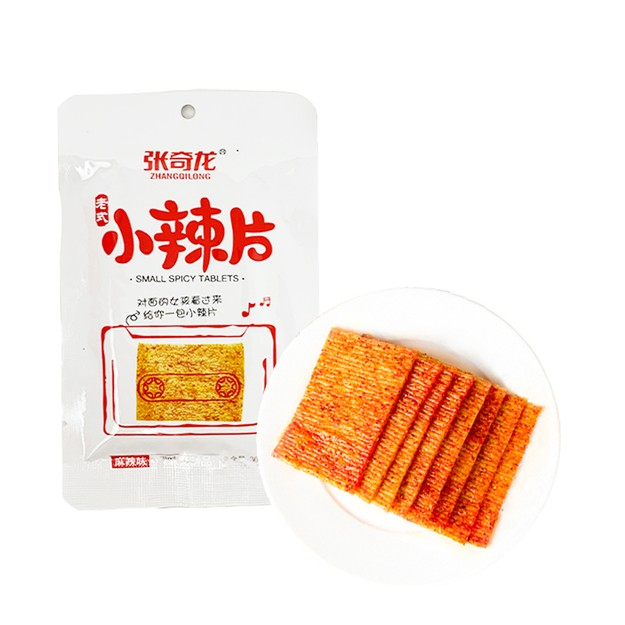 Product Detail - ZHANGQILONG Vintage Small Spicy Slices Spicy Flavor 36g - image 0