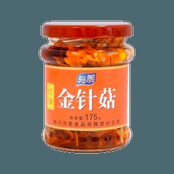 与美 红油金针菇175g 下饭利器 强烈推荐