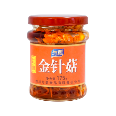 YUMEI FOOD Enoki Mushroom 175g