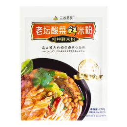 SANYANGYISHI Sour Vegetable Rice Noodles 342g
