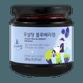 韩国 Father's Hill 爸爸山丘 儿童辅食天然无糖果酱 儿童可放心食用 280g #蓝莓 果肉满满