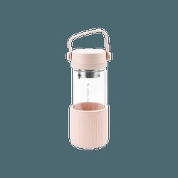 北鼎BUYDEEM 泡茶随手杯 珊瑚粉 350ml CD1008/A2