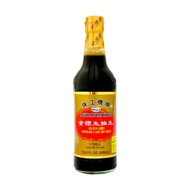 商品详情 - 珠江桥牌 金标生抽王 500ml - image  0