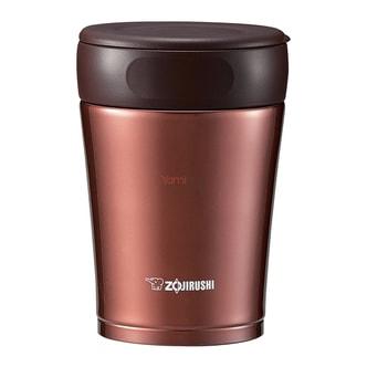 日本ZOJIRUSHI象印 不锈钢真空保冷保温焖烧杯 咖啡棕 360ml SW-GCE36TA
