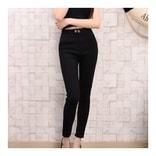 韩国LE'S DIET 黑色修身显瘦魔术裤 均码