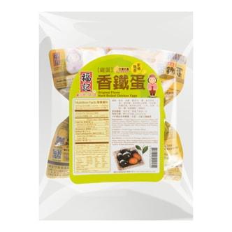 台湾福记 香铁蛋 原味 6个装 150g