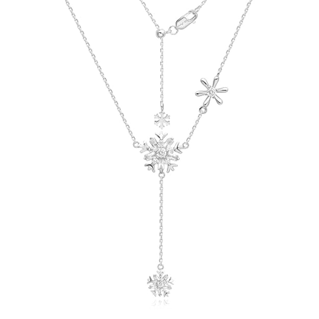 ARSIS necklace with 3 snow flakes 1 piece