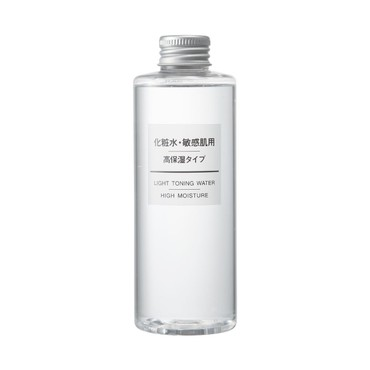 MUJI LIGHT TONING WATER HIGH MOISTURE 200ml