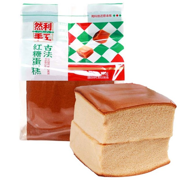 商品详情 - 新鲜出炉 空运直达 然利古法红糖手工蛋糕 120g - image  0