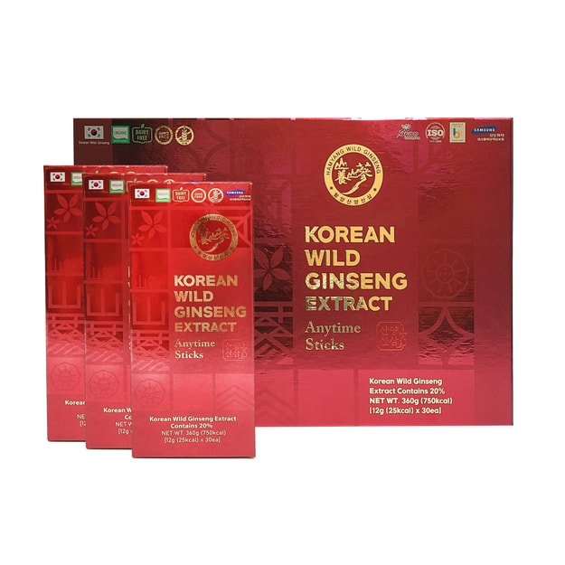 Product Detail - Hamyang Korean Wild Ginseng Extract Anytime Liquid Stick 30ea (30 x 10g) - image  0