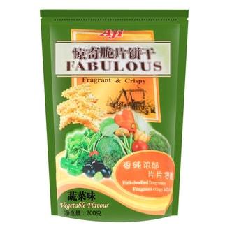 台湾AJI 惊奇脆片饼干 蔬菜味 200g