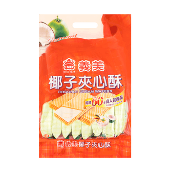 IMEI Cream Wafer Pack Coconut Flavor 400g