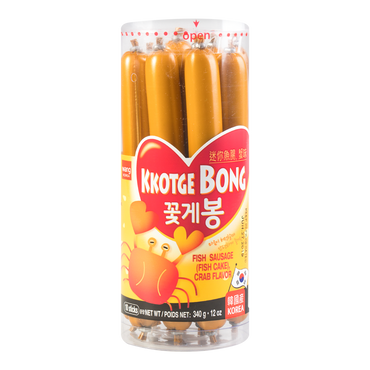 WANG Fish Cake/Sausage Crab Flavor 10PCS