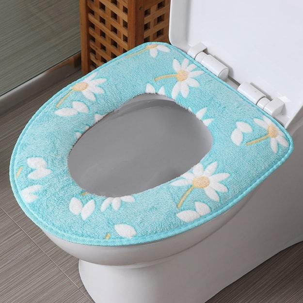 商品详情 - 欧润哲 马桶垫 浴室保暖底层防水坐便垫厕所垫马桶套座圈 随机款 - image  0