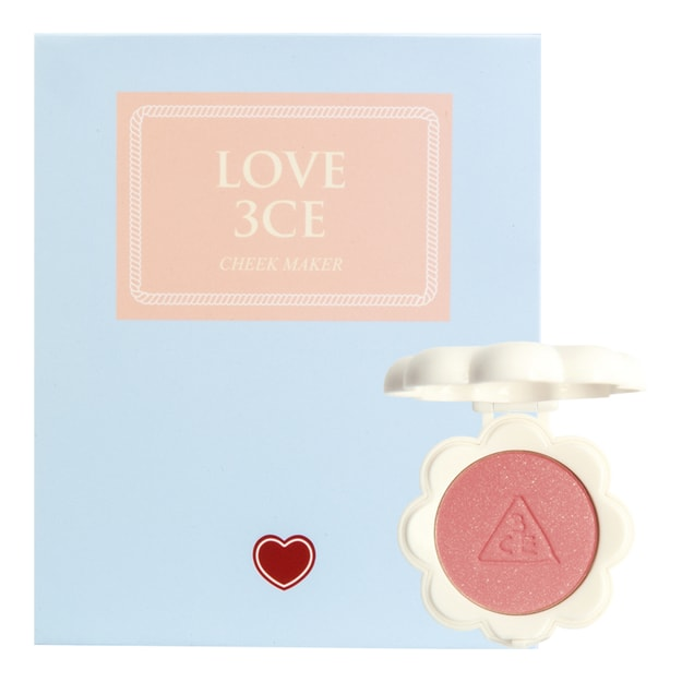 Product Detail - [GIFT] 3CE LOVE Cheek Maker #Under the Stars 3.8g - image 0