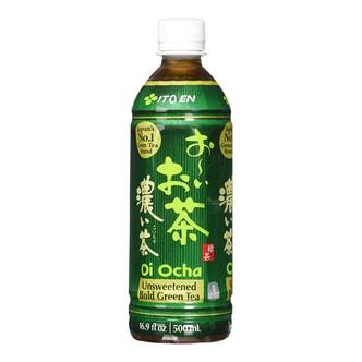 日本ITO EN伊藤园 无香料无糖天然浓郁绿茶 500ml