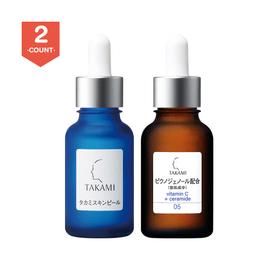 TAKAMI Vitamin C E Functionality 30ml +Skin Peel 30ml Essence 30ml