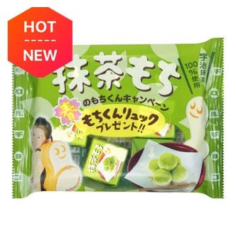 日本TIROL 抹茶麻薯巧克力 7粒入 42g