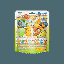 日本万代 Bandai Bikkura Tamago儿童泡澡球盲盒盲袋 #宝可梦宠物小精灵 内含一个小玩具共5款随机发送