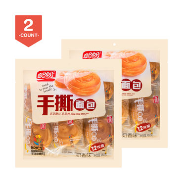 【Value Set】PANPAN Bread Roll Cream Flavor 24pc 960g