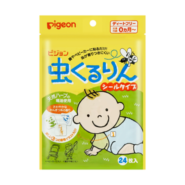 Pigeon Insect Kururin Seal Type Value Pack 24pcs