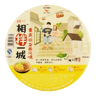 台湾统一 相拌一城 重庆豌杂面风味 碗面 125g