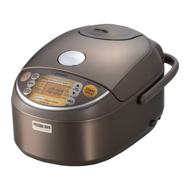 Product Detail - ZOJIRUSHI Induction Heating Pressure Rice Cooker and Warmer 10 Cup 1.8L Stainless Brown NP-NVC18XJ - image 0