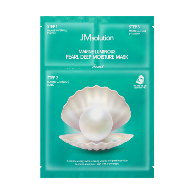Product Detail - JM SOLUTION Pearl Deep Moisture Mask 1 sheet - image 0