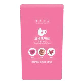 LADIES TEA Hawthorn Rose Roselle Tea 48g