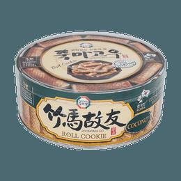 韩国SURASANG三进牌 竹马故友 蛋卷 椰子味